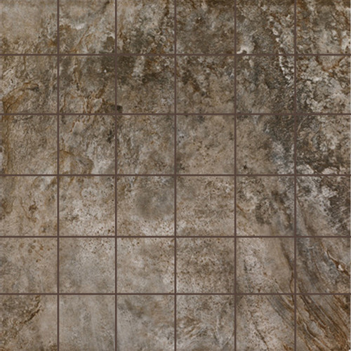 Stonefire Grey 2x2 Mosaic
