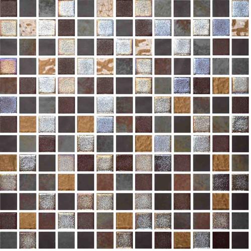 Glass Onix Mystic Savina 1x1 Mosaic Blend
