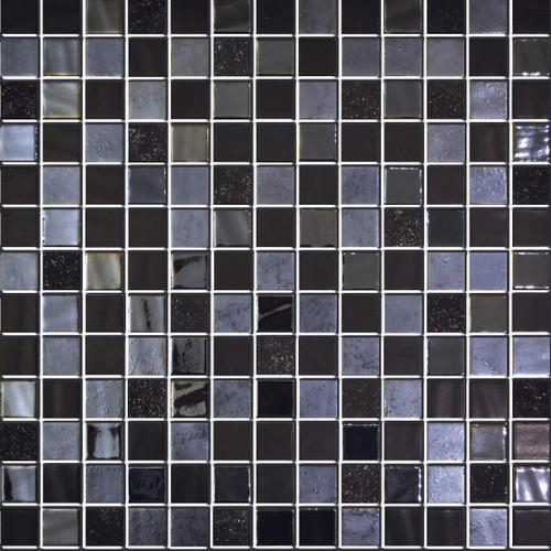 Glass Onix Nature Navia 1x1 Mosaic Blend