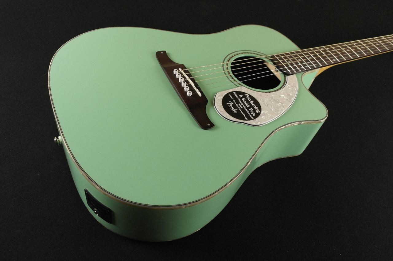 Fender Sonoran Sce Surf Green With Matching Headstock 0145 Tundra Music Inc Vintage Guitars Store More Toronto