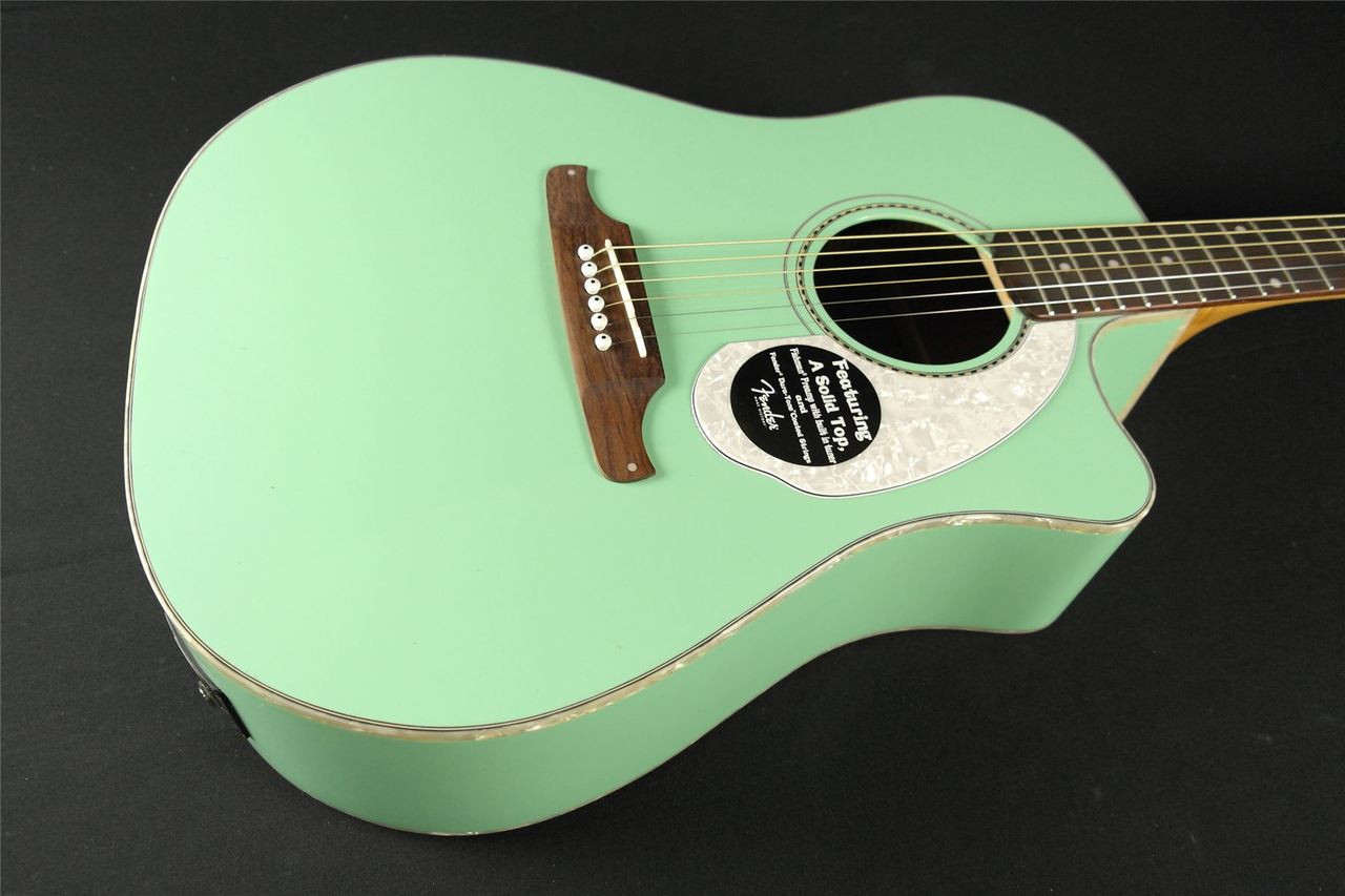 Fender Sonoran Sce Surf Green With Matching Headstock 713 Tundra Music Inc Vintage Guitars Store More Toronto