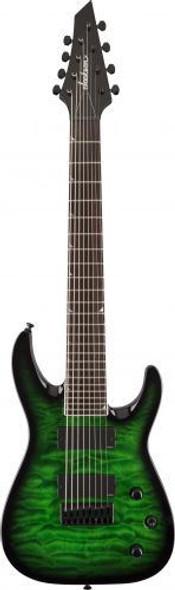 Jackson SLATFXQMG 3-8 Rosewood Fingerboard Transparent Green