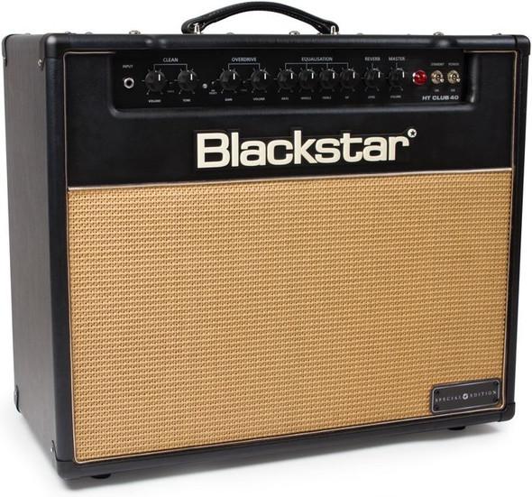 Blackstar HTCLUB40SE Special Edition 40W Combo W/Basket Weave Front