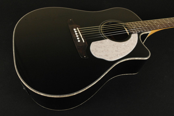 Fender Sonoran SCE Black with Matching Headstock 968604006 (322)