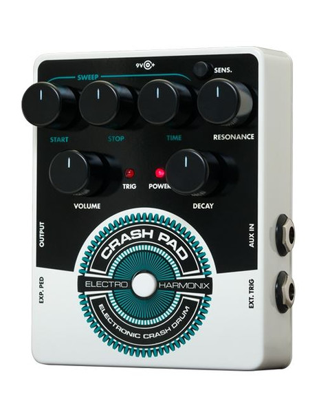 Electro-Harmonix NEW CRASH PAD Analog Drum Synth, 9.6DC-200 PSU Included