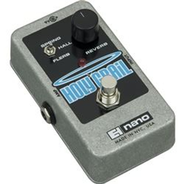 Electro-Harmonix HOLY GRAIL Reverb  9.6DC-200 PSU included