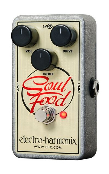 Electro-Harmonix SOUL FOOD Transparent overdrive 9.6DC-200 PSU included