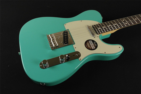 Fender Limited Edition American Standard Telecaster with Painted Headcap Seafoam Green - Magnificent 7 (314)