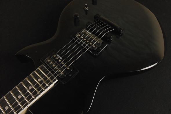 Jackson JS Series Monarkh SC JS22 Rosewood Fingerboard Quilt Maple Top Transparent Black (754)