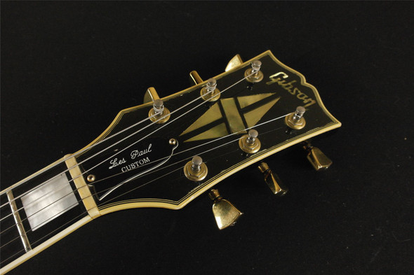 Gibson 1976 Les Paul Custom Ebony - GREAT CONDITION - MAHOGANY NECK - VINTAGE