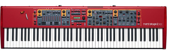 Nord - Stage 2 EX - 88 note weighted hammer action