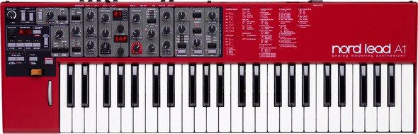Nord - Lead Analog synth,4 parts,24 note poly