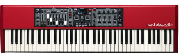Nord - Electro5 - 73 with semi-weighted waterfall action and drawbars