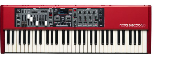 Nord - Electro5 - 61 with semi-weighted waterfall action and drawbars