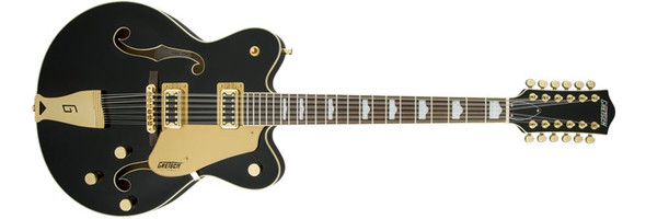 Gretsch G5422G-12 Electromatic Hollow Body Double-Cut 12-String with Gold Hardware - Black (2516013506)