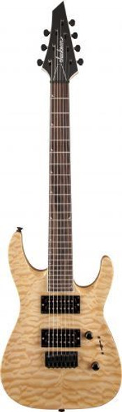 Jackson JS32-7Q Dinky� Rosewood Fingerboard Fixed Bridge Bound Neck/Headstock Natural