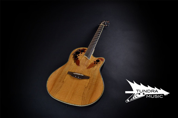 PC - Ovation CC44-SM Celebrity Deluxe PLS MD - Spalted Maple (315)
