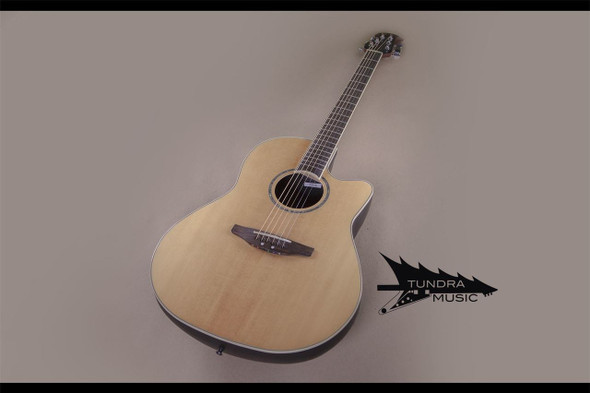 Ovation CC24 Celebrity Cutaway Acoustic-Electric - Natural (691)