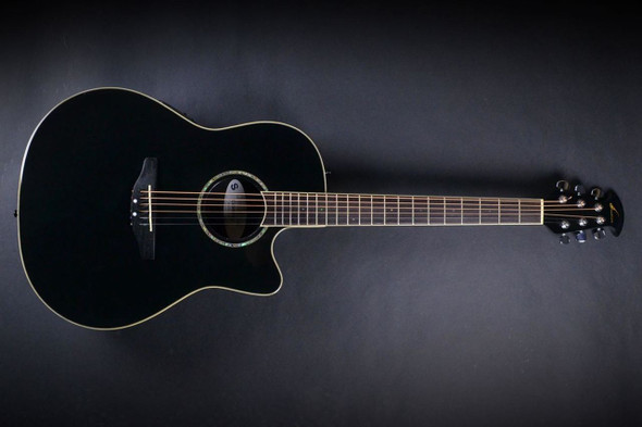 Ovation CC28-5 Celebrity Super Shallow Cutaway Acoustic/Electric - Black (330)