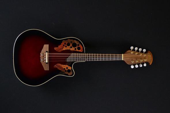Ovation MCS148-RRB Celebrity Mandolin Ruby Red Burst (253)