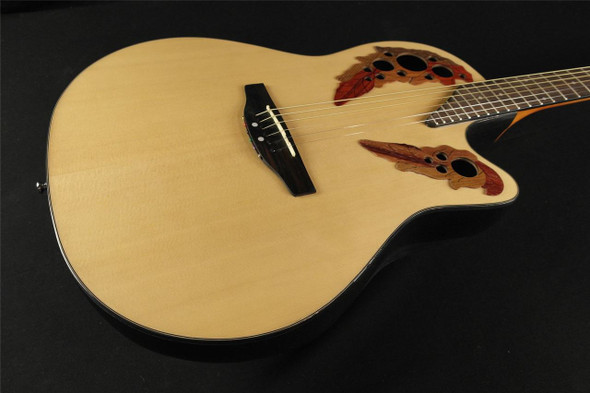 Applause by Ovation AB24A-4 Balladeer Acoustic Mid-Depth Bowl - Natural (393)