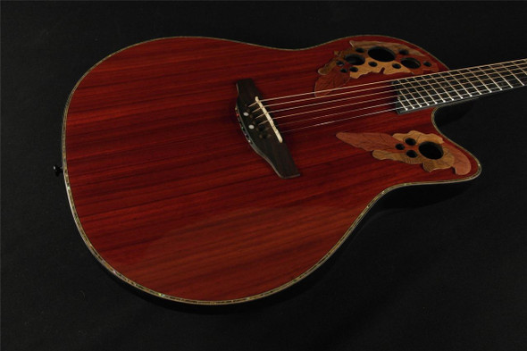 Ovation CC48-PD Celebrity Deluxe Shallow Depth Acoustic/Electric - Padauk (544-)