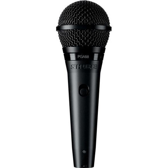 Shure PGA58-XLR Cardioid Dynamic Microphone with Switch & XLR-XLR Cable