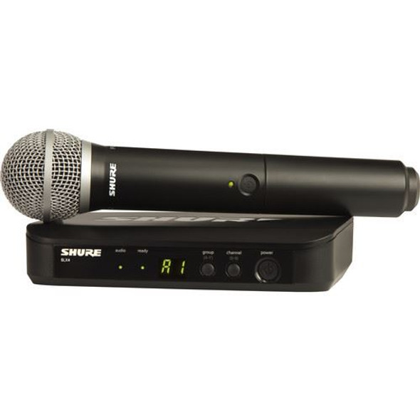 Shure BLX24/PG58-H9 Wireless Handheld System with PG58 Microphone