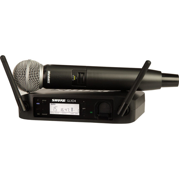 Shure GLXD24/SM58-Z2 Wireless Handheld System with SM58 Microphone