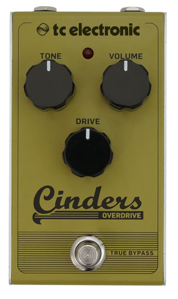 TC Electronics INDERS OVERDRIVE Tube-Like Overdrive with Extremely Responsive and Expressive Feel