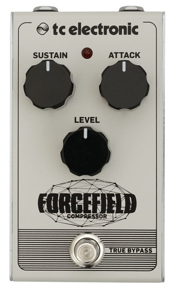 TC Electronics FORCEFIELD COMPRESSOR Classic Compressor/Limiter Pedal with Endless Sustain