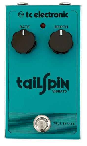 TC Electronics TAILSPIN VIBRATO Classic True Pitch Vibrato with All-Analog Bucket-Brigade Design