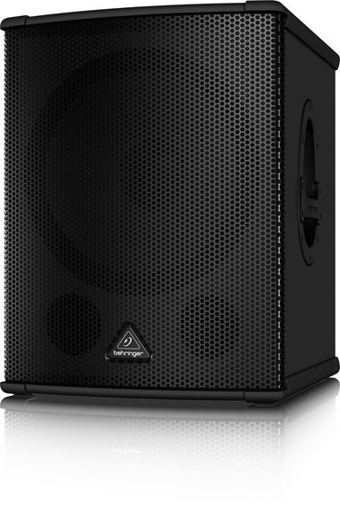 """Behringer    High-Performance Active 2200-Watt PA Subwoofer with 15"""" TURBOSOUND Speaker and Built-In Stereo Crossover"""