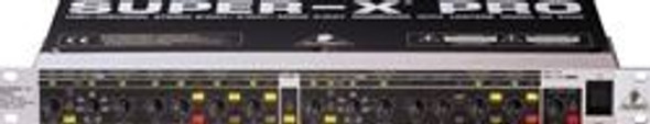Behringer Stereo 2-Way/3-Way/Mono 4-Way Crossover with Limiters, Adjustable Time Delays and CD Horn Correction