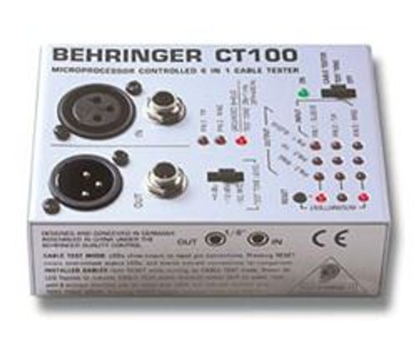 Behringer Professional 6-in-1 Cable Tester