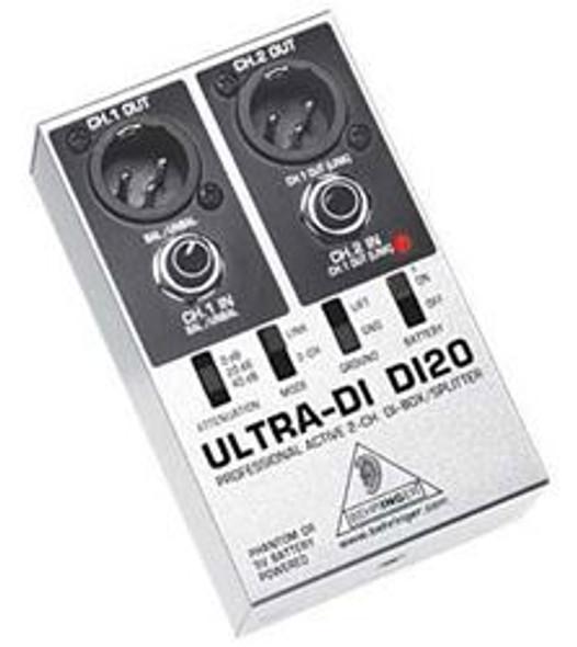 Behringer Professional Active 2-Channel DI-Box/Splitter