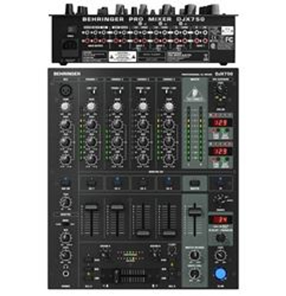 Behringer 5-Channel DJ Mixer with Advanced Digital Effects and BPM Counter