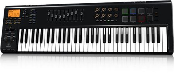 Behringer   61-Key USB/MIDI Master Controller Keyboard with Motorized Faders and Touch-Sensitive Pads