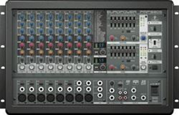 Behringer 1600-Watt 10-Channel Powered Mixer, Dual Multi-FX Processor and FBQ