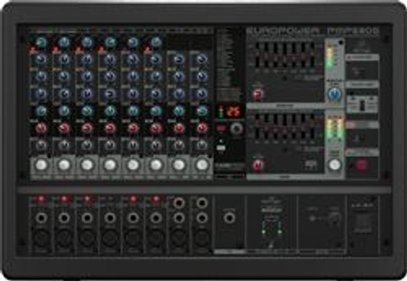 Behringer 500-Watt 10-Channel Powered Mixer, KLARK TEKNIK Multi-FX Processor, FBQ