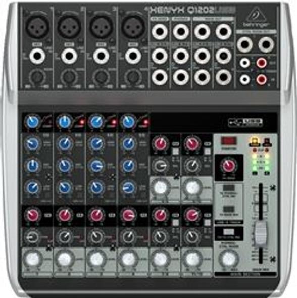 Behringer Premium 12-Input 2-Bus Mixerr, KLARK TEKNIK Multi-FX Processor