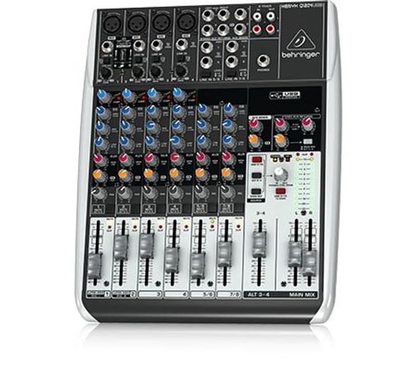 Behringer Premium 12-Input 2/2-Bus Mixer, KLARK TEKNIK Multi-FX Processor