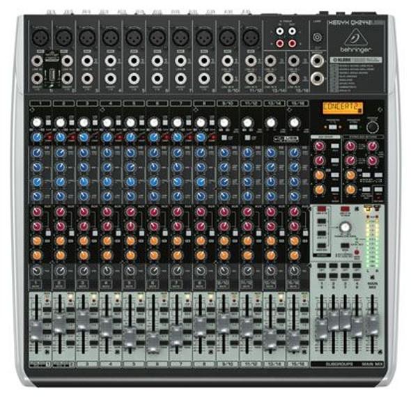 Behringer Premium 24-Input 4/2-Bus Mixer, KLARK TEKNIK Multi-FX Processor