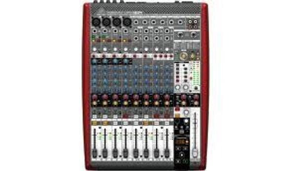 Behringer Premium 12-Input 4-Bus Mixer with 16x4 USB/FireWire Interface