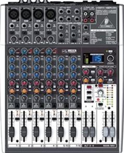 Behringer Premium 12-Input 2/2-Bus Mixer, 24-Bit Multi-FX Processor