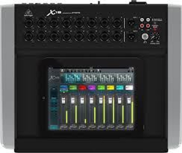 Behringer Compact 18-Input, 12-Bus Digital Mixer for iPad*/Tablet with 16 MIDAS Preamps