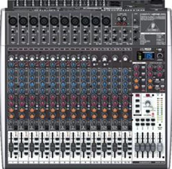 Behringer Premium 24-Input 4/2-Bus Mixer, 24-Bit Multi-FX Processor