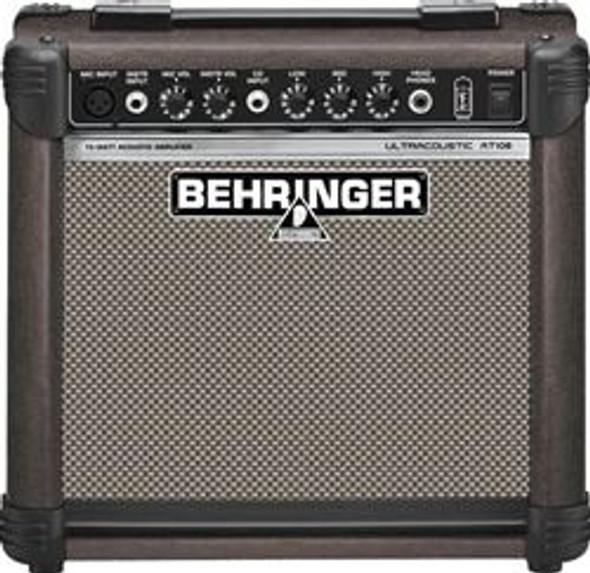 "Behringer 15-Watt Acoustic Amplifier with VTC-Technology and Original 8"" BUGERA Speaker"