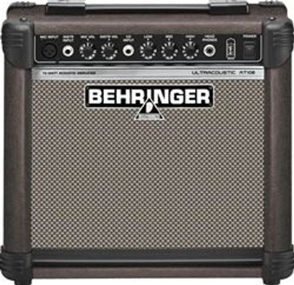 "Behringer 15-Watt Acoustic Amplifier with VTC-Technology and Original 8"" BUGERA Speaker"