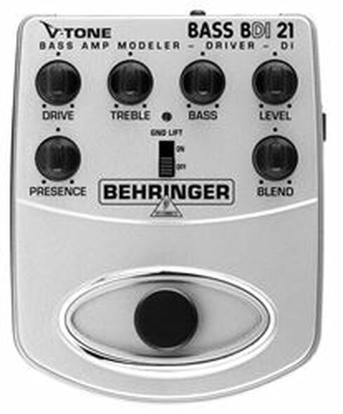 Behringer Bass Amp Modeler/Direct Recording Preamp/DI Box